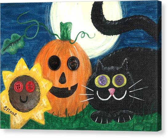 Halloween Fun Canvas Print