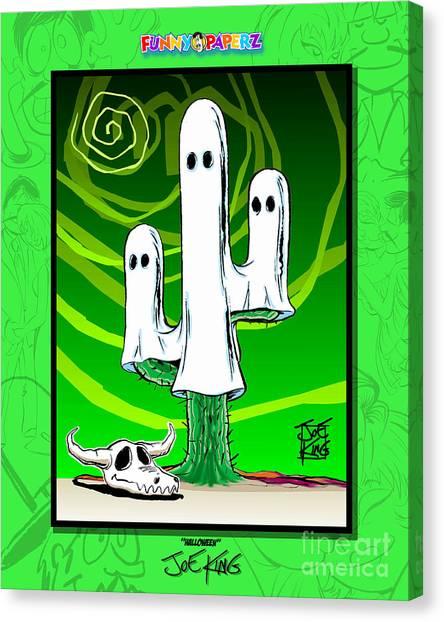 Halloween Canvas Print by Joe King