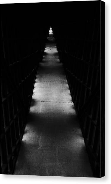 Hallway To Nowhere Canvas Print