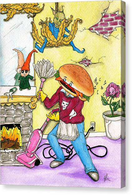 Hamburger Helper Canvas Print