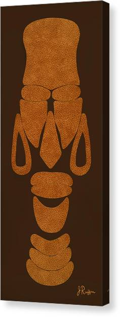 Hamite Female Canvas Print