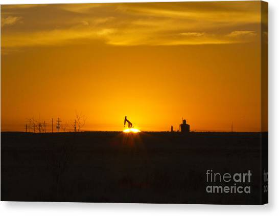 Hammering The Sun Canvas Print