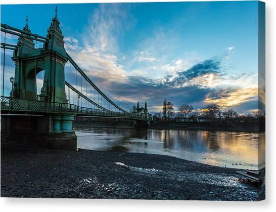 Hammersmith Bridge Canvas Print
