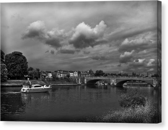 Hampton Bridge Canvas Print