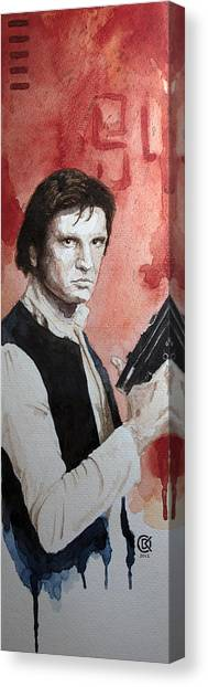 Han Solo Canvas Print by David Kraig