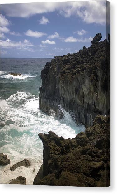 Hana Coastline 2 Canvas Print