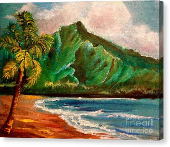 Hanalei Bay Canvas Print