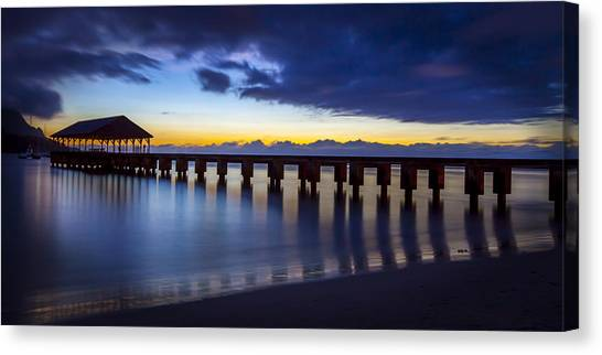 Hanalei Twilight Canvas Print
