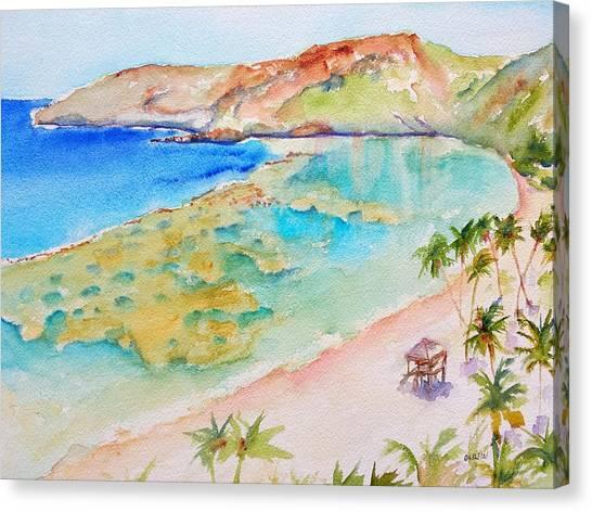 Hanauma Bay Canvas Print