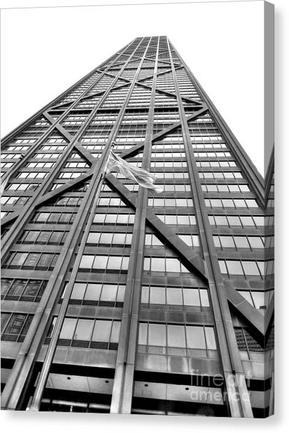 Hancock Building Canvas Print - Hancock by David Bearden