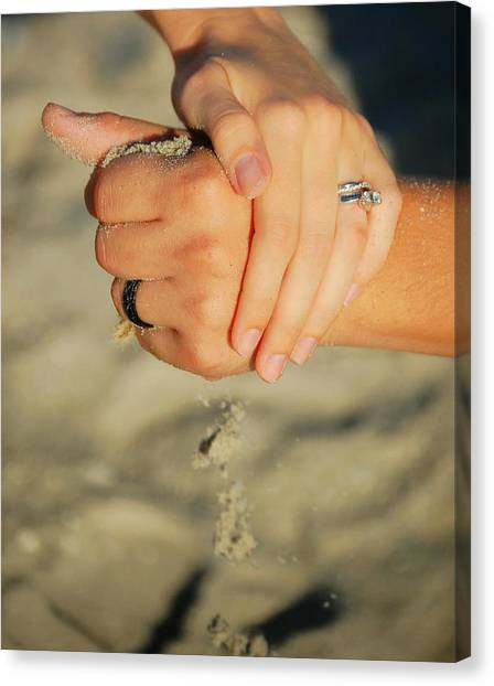 Hands Of Time Canvas Print