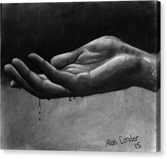 Hand Study #2 Canvas Print