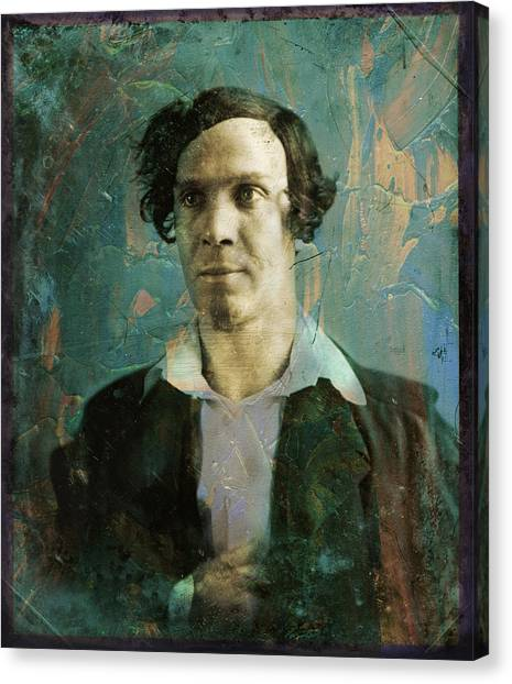 Historical Canvas Print - Handsome Fellow 1 by James W Johnson