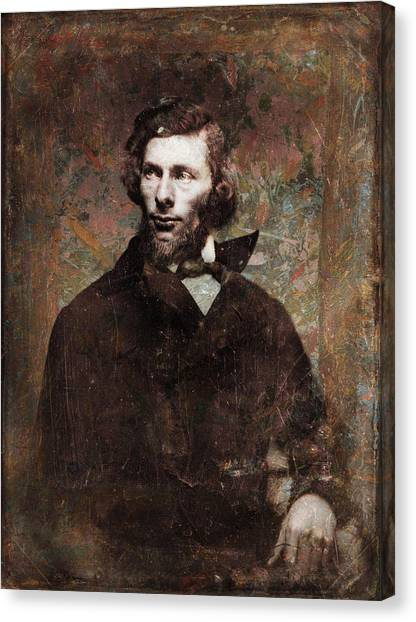 Historical Canvas Print - Handsome Fellow 4 by James W Johnson
