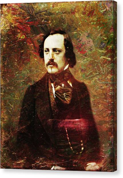 Historical Canvas Print - Handsome Fellow 5 by James W Johnson