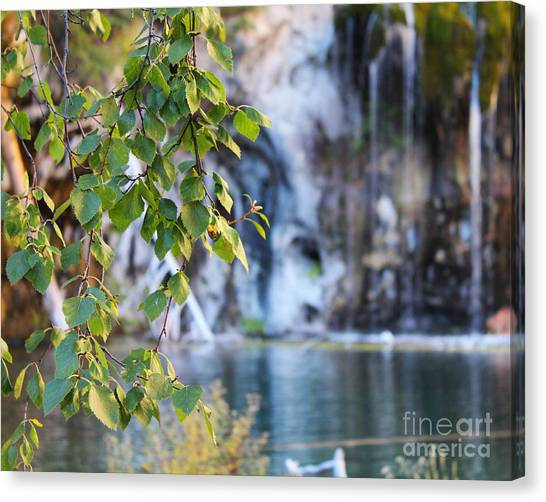 Hanging Lake 8x10 Crop Canvas Print