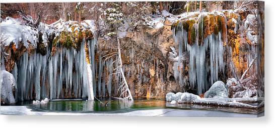 Hanging Lake Canvas Print