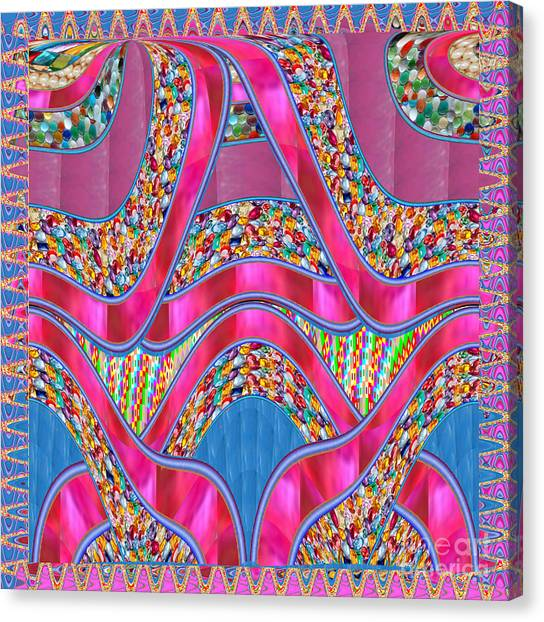 Hoodie Canvas Print - Happy   Purple Ribbbon Jewels Giftbox Sparkle Art Poster  Buy Print Posters Canvas Greeting Cards Ph by Navin Joshi