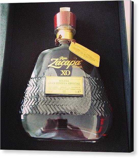 Rum Canvas Print - Happy Birthday To Me! #zacapa #xo by Kevin Green