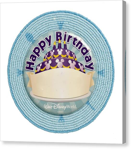 Canvas Print featuring the digital art Happy Birthday Wd 2013 by Douglas K Limon