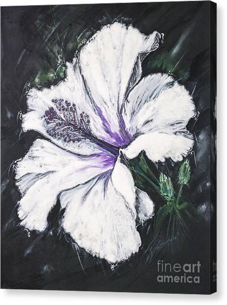 Happy Hibiscus Canvas Print