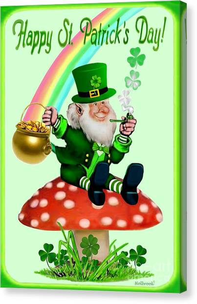 Happy St. Patrick's Day Canvas Print