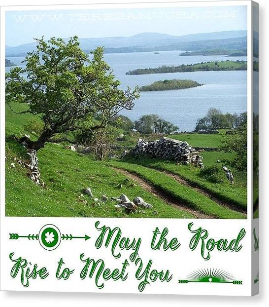 Ireland Canvas Print - Happy St. Patrick's Day! Photo From My by Teresa Mucha