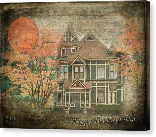 Happy Thanksgiving Canvas Print