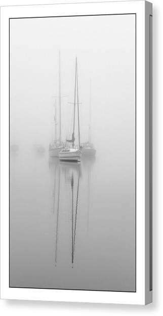 Harbor Fog No.1 Canvas Print