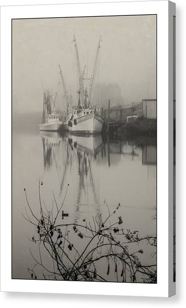Harbor Fog No.4 Canvas Print