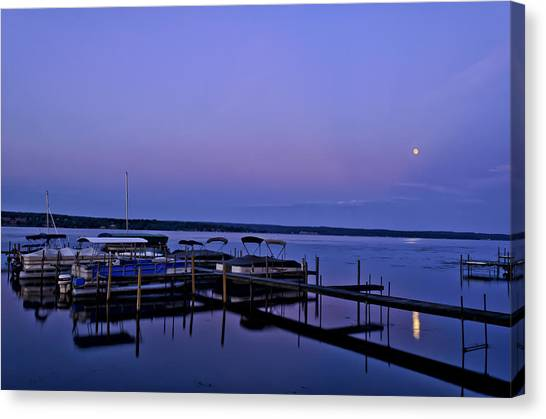 Harbor Night Canvas Print