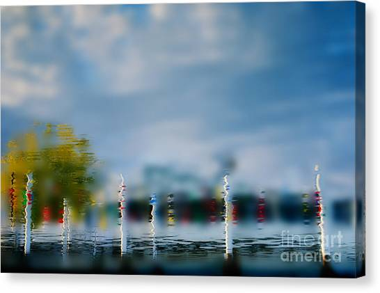 Harbor Reflections Canvas Print