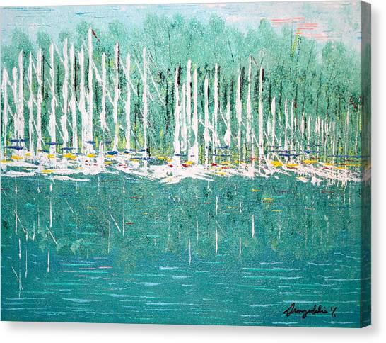 Harbor Shores Canvas Print