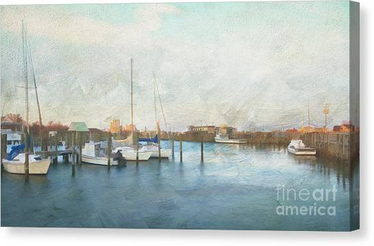 Harbor Morning Canvas Print