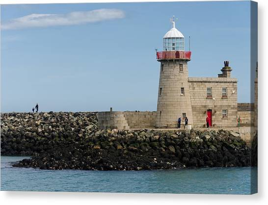 Harbour Entrance Canvas Print