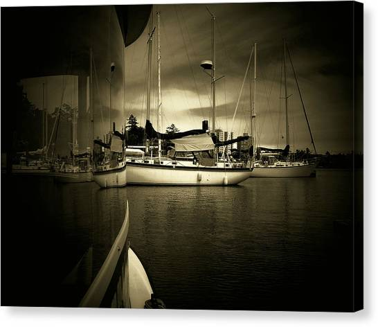 Harbour Life Canvas Print