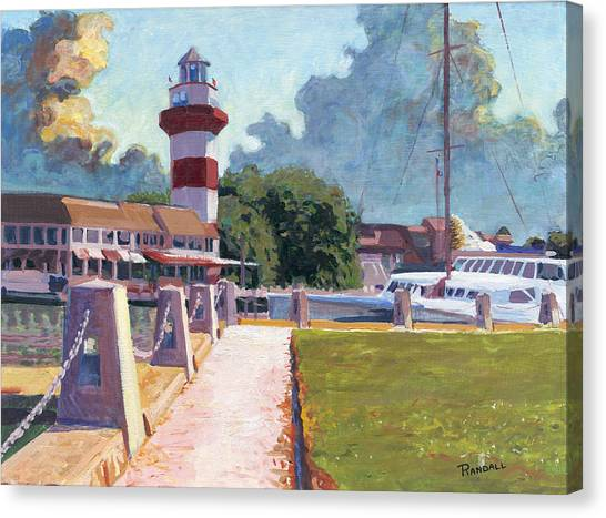 Harbour Town Light Canvas Print