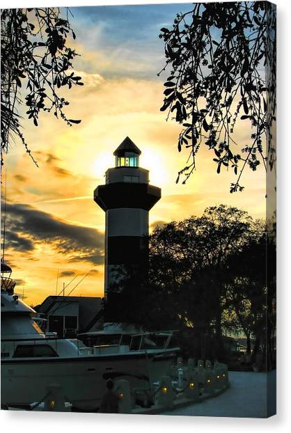 Harbour Town Lighthouse Beacon Canvas Print