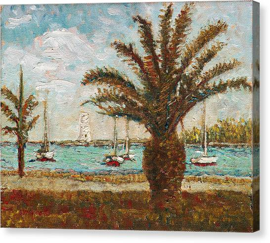 Harbour View - Nassau Canvas Print