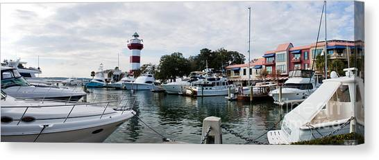 Harbourtown Harbor Canvas Print
