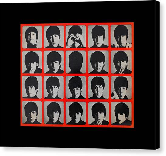 Hard Days Night Canvas Print