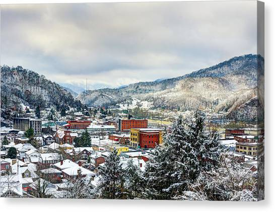 Harlan Ky Winter Canvas Print