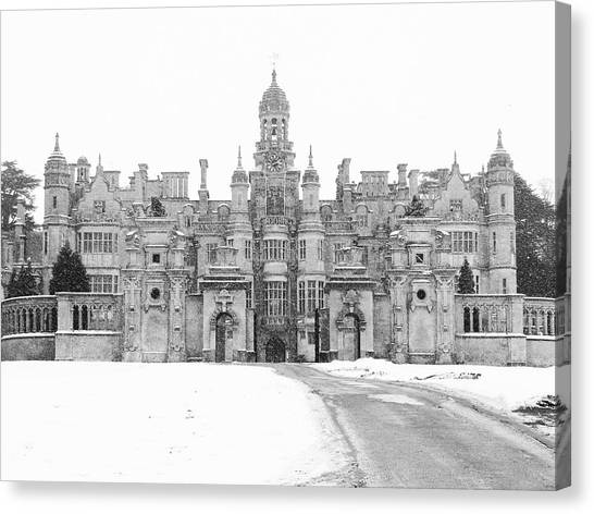 Harlaxton Manor Canvas Print