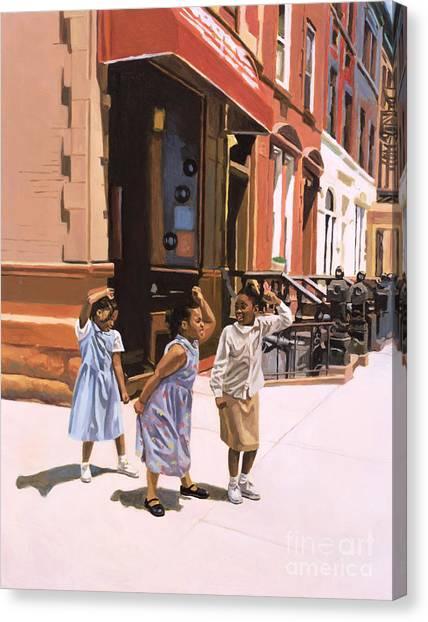 Harlem Canvas Print - Harlem Jig by Colin Bootman