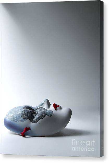 Mardi Gras Canvas Print - Harlequin by Diane Diederich