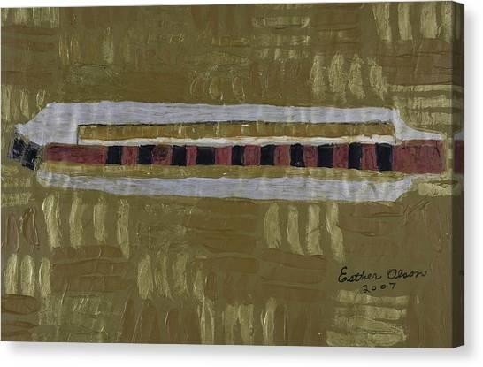 Harmonica Canvas Print
