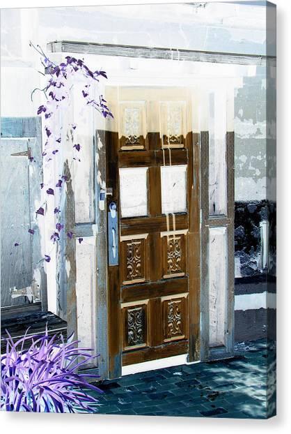Harmony Doorway Canvas Print