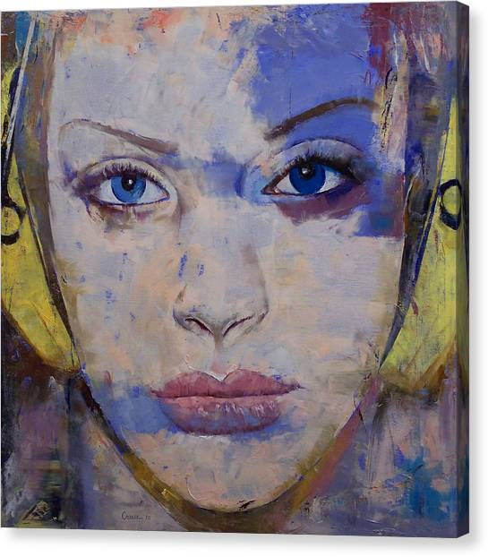 Headphones Canvas Print - Harmony by Michael Creese