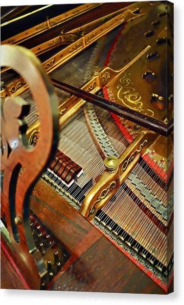 Harpsichord  Canvas Print