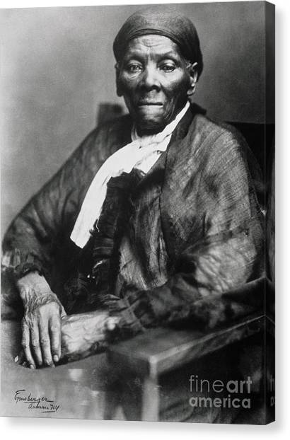 Racism Canvas Print - Harriet Tubman  by American School